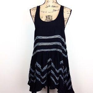 Free People Trapeze Slip Dress S @